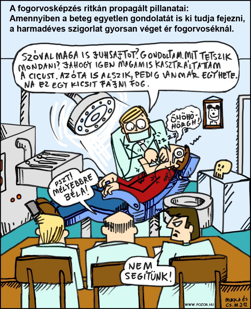 fogorvos képregény